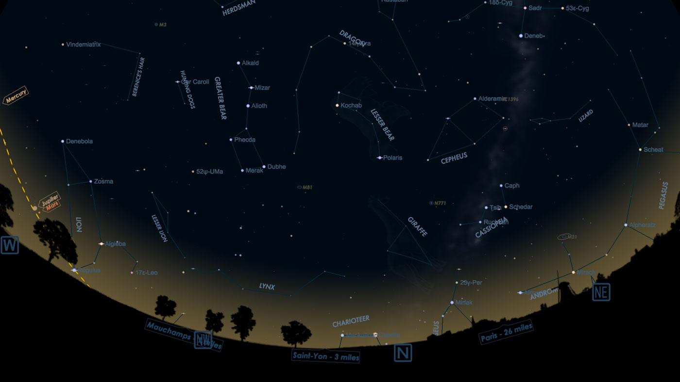 Starmap 2 Astronomy App for iOS, Apple Watch, and Apple TV Devices Image