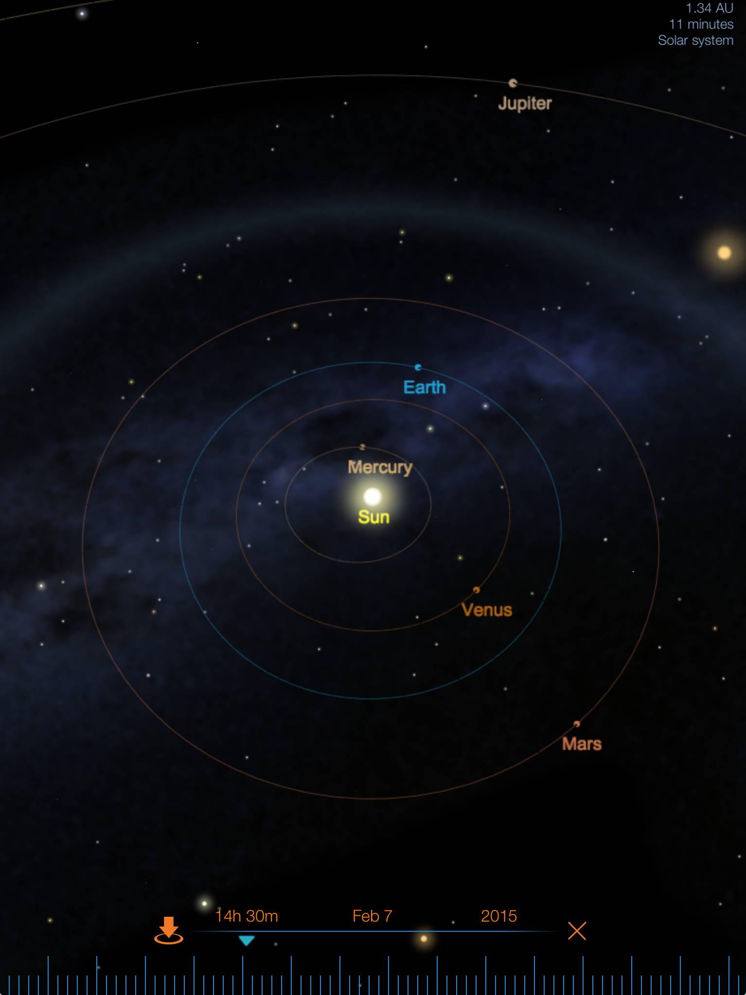 d model. starmap the astronomy app