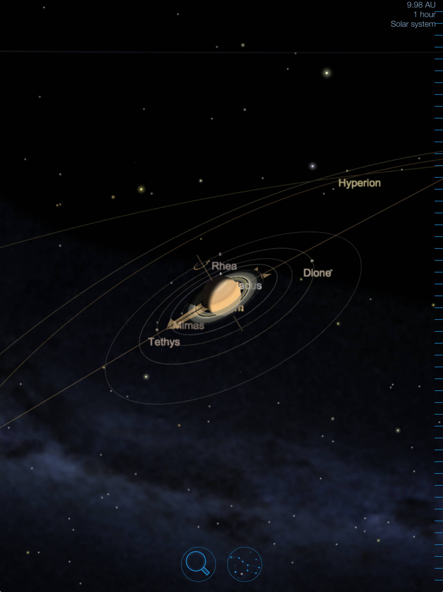 Starmap The Astronomy App - Solar system map 3d
