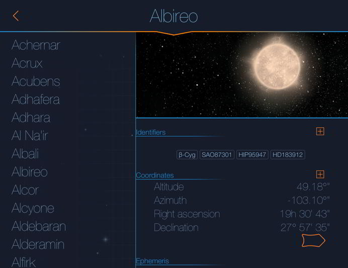 Starmap: the astronomy App on